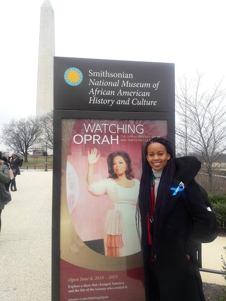 Honouring Oprah Winfrey.